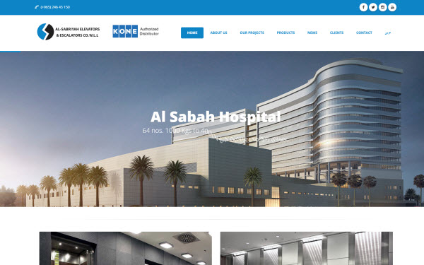 Al-Sabriyah Elevator & Escalator Company Launches New Website